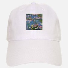 Monet Water lilies Baseball Cap