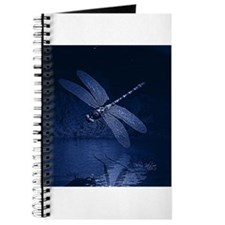 Blue Dragonfly at Night Journal