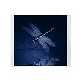 Dragonfly Fleece Blankets