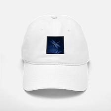 Blue Dragonfly at Night Baseball Baseball Baseball Cap