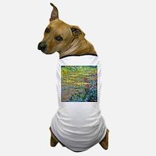 Water lilies by Claude Monet Dog T-Shirt