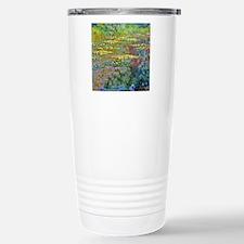 Water lilies by Claude Monet Travel Mug