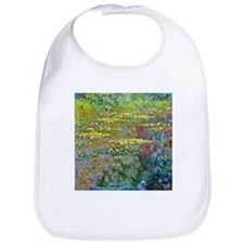 Water lilies by Claude Monet Bib