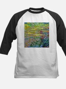 Water lilies by Claude Monet Baseball Jersey