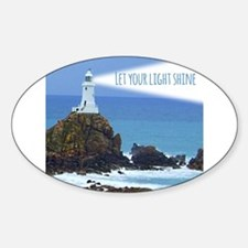 Let your Light Shine Decal