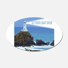 Let your Light Shine Wall Decal