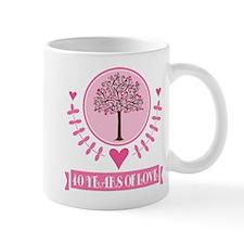 40th Anniversary Love Tree Mug