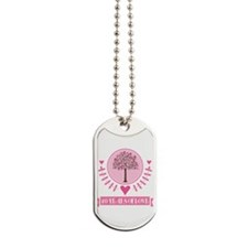 40th Anniversary Love Tree Dog Tags