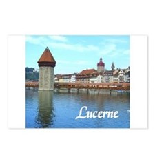 Lucerne souvenir Postcards (Package of 8)