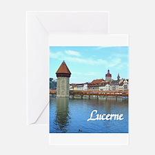 Lucerne souvenir Greeting Cards