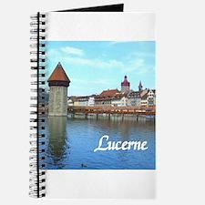 Lucerne souvenir Journal