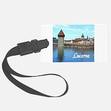 Lucerne souvenir Luggage Tag