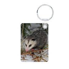 Snow Possum Keychains