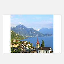 Switzerland Swiss landscape Postcards (Package of
