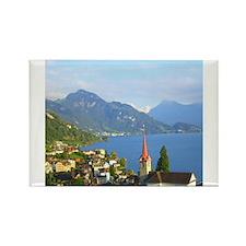 Switzerland Swiss landscape Magnets