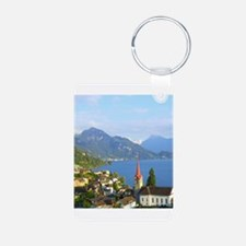 Switzerland Swiss landscape Keychains