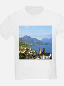 Switzerland Swiss landscape T-Shirt
