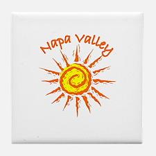 Napa Valley, California Tile Coaster