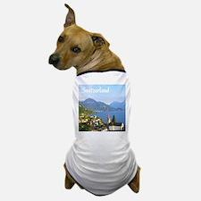 Switzerland view over lake Dog T-Shirt