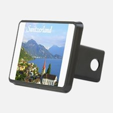 Switzerland view over lake Hitch Cover