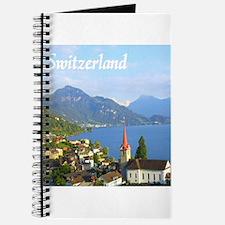 Switzerland view over lake Journal