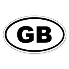 Great Britain GB Decal