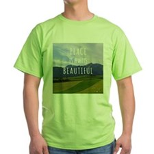 Peace is always beautiful quote T-Shirt