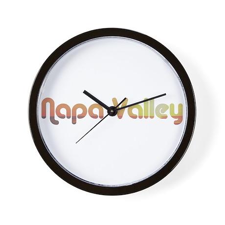 Napa Valley, California Wall Clock