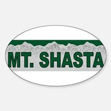Mt. Shasta Oval Decal