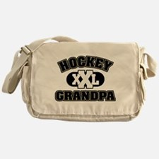 Hockey Grandpa Messenger Bag