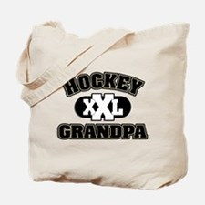 Hockey Grandpa Tote Bag