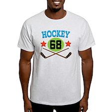 Hockey Player Number 68 T-Shirt