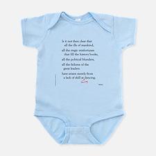 Moliere on Swing Dance Infant Bodysuit