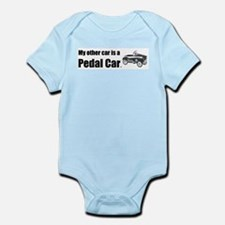 MyOtherCarPedalCar Infant Bodysuit