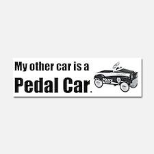 MyOtherCarPedalCar Car Magnet 10 x 3