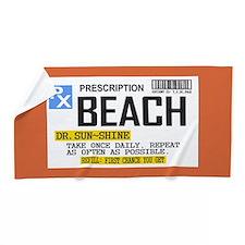 Prescription Beach Towel