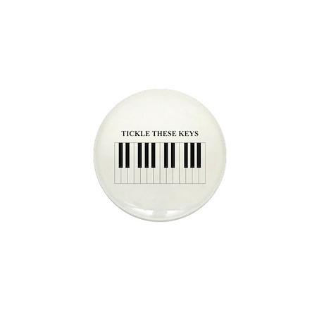 Piano Tickle Mini Button (10 pack)