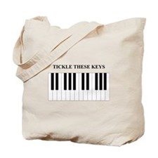 Piano Tickle Tote Bag
