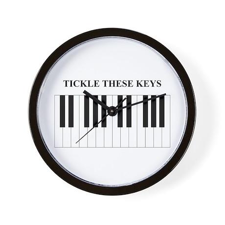 Piano Tickle Wall Clock