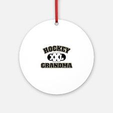 Hockey Grandma Ornament (Round)