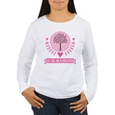 22nd Anniversary Love Tree T-Shirt