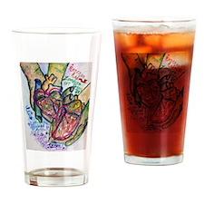 Zombie Love Poem Drinking Glass