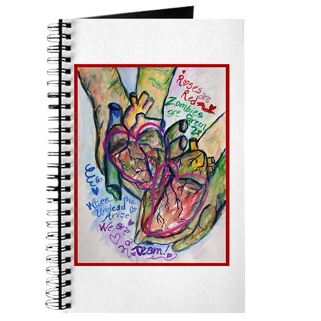 Zombie Love Poem Journal
