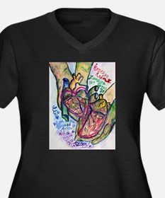 Zombie Love Poem Plus Size T-Shirt