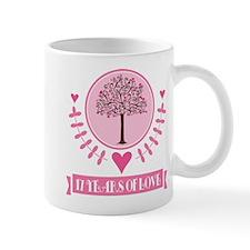 17th Anniversary Love Tree Mug