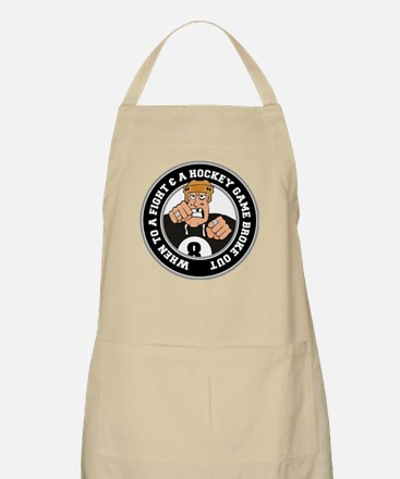 Funny Hockey Player Apron