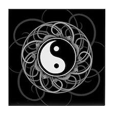 Zen Yin Yang Tile Coaster
