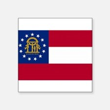 Georgia State Flag Sticker