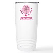 13th Anniversary Love Tree Travel Mug