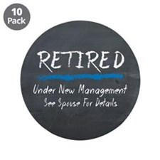 Chalkboard Retired Under New Management 3.5&Quot;